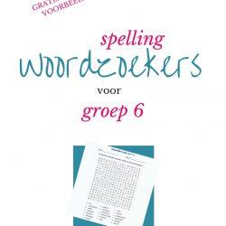 spelling woordzoekers groep 6