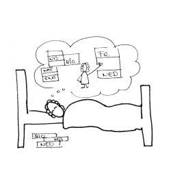 slapend leren